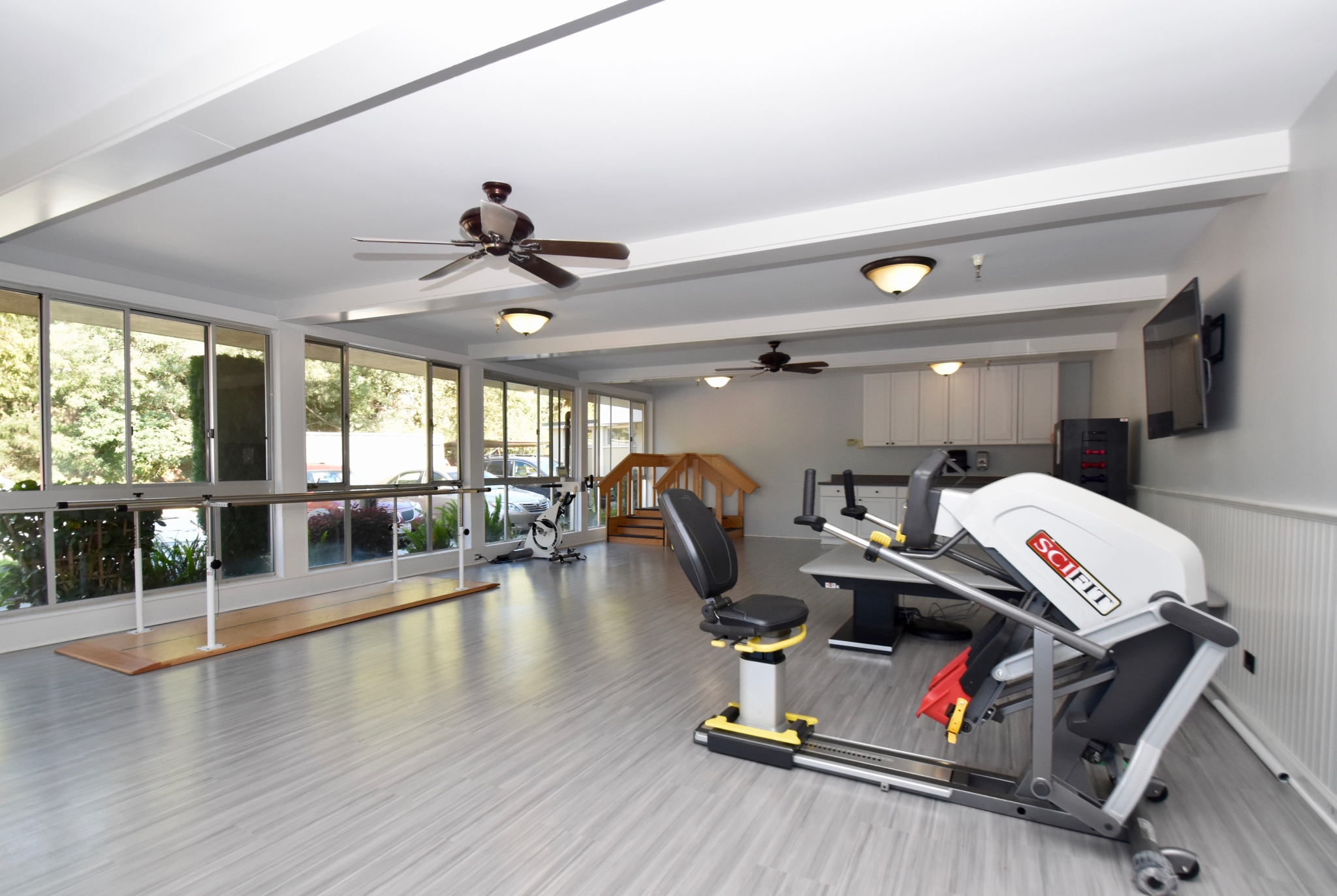 Marin Post Acute- Our Rehabilitation and therapy area